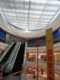 采光顶遮阳帘,商场中厅遮阳帘,玻璃顶棚帘