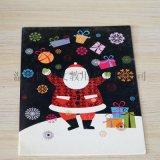 創意聖誕賀卡 新年祝福賀卡 韓國卡通兒童賀卡 節日賀卡訂製logo