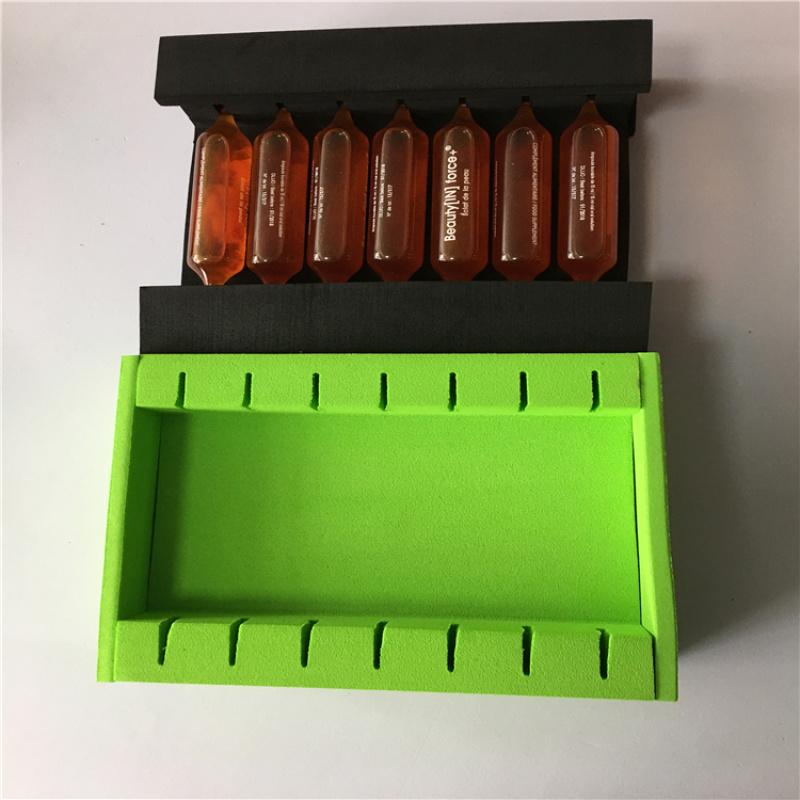 生产包装盒海棉内托防震海绵茶具酒瓶内衬