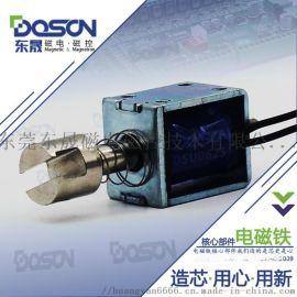 厂家直销强力牵引型自复位框架式直流电磁铁电压可定制