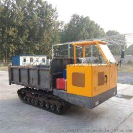 橡胶履带运输车 全地形履带运输拖拉机 农用运输车