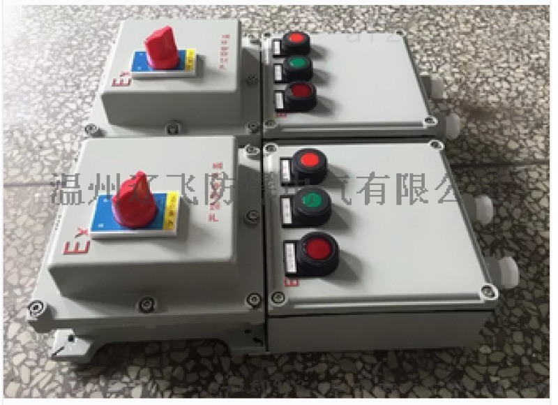 一控三帶總開關防爆控制箱 水泵防爆控制箱