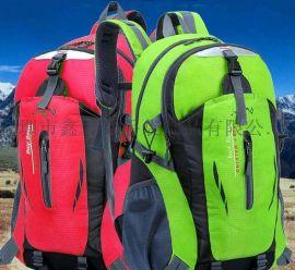 男款休閒運動旅行背包