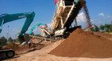 渣土建築垃圾破碎站 建築垃圾移動破碎站 人工織沙生產線