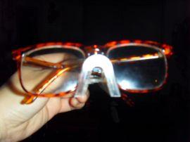 厂家直销亚克力眼镜展示架鼻托展示眼镜