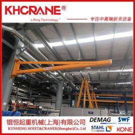 定制固定式墙壁吊 小型立柱式悬臂吊车 单臂起重机独臂吊