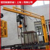 供應立柱定柱移動式懸臂吊起重機 單臂吊牆壁吊手動電動旋臂吊機