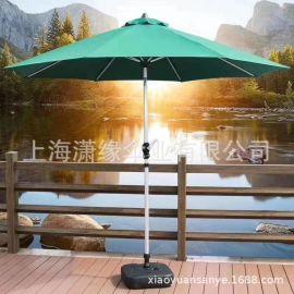 中柱太阳伞户外手摇遮阳伞休闲沙滩庭院伞定做厂家