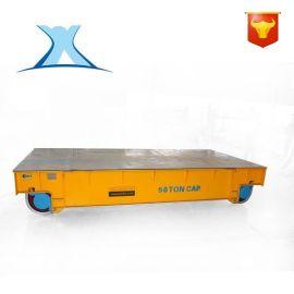 轻型卸载蓄电池轨道搬运车可定制5吨钢包车直销
