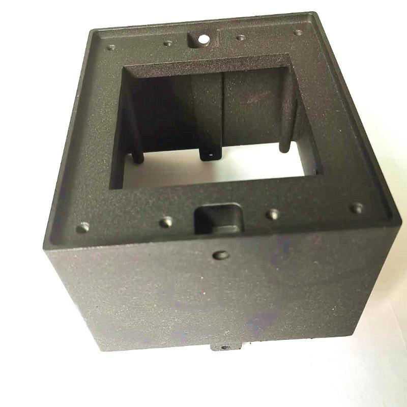深圳壓鑄鋅合金加工 高溫烤漆效果鋅合金藍牙音箱外殼定製