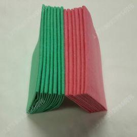 新价供应多规格全绿色水刺无纺布_定制素色水刺布产品生产厂家