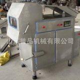 廠家直銷豬油凍盤切塊機 按需定製不鏽鋼大型板油凍肉破碎切片機