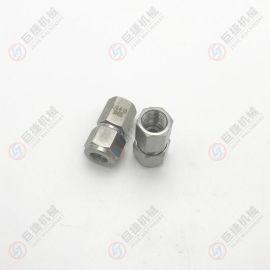 不锈钢内螺纹卡套接头 内螺纹卡套终端 螺纹卡套接头卡套式管接头