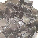 優質耐磨天然膠橡膠減震墊 方形耐磨橡膠緩衝墊塊 防衝擊橡膠塊