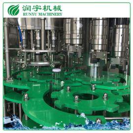 润宇机械厂家直销果汁饮料灌装机,玻璃瓶果汁灌装机