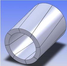 供应深圳磁铁厂订做马达电机永磁辐射环
