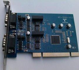 威勤——PCI转换卡/PCI转RS-485/RS-422/PCI接口数据转换卡