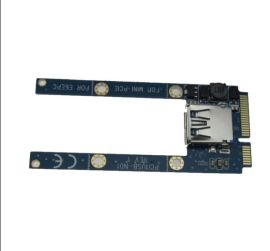 USB2.0 mini pci-e扩展卡