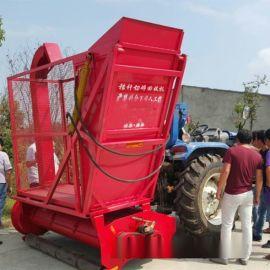 秸秆切碎还田机 自吸式秸秆回收机 箱式青贮收割机