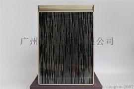 鹦鹉嘴拉手晶钢橱柜门素色钢化玻璃门