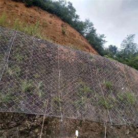 山体道路柔性护坡落石钢丝绳防护网生产厂家