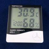 大屏幕数显HTC-1温湿度计 数字温湿度计 室内外温湿度计