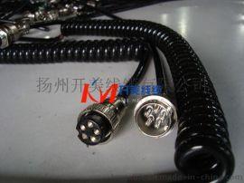 KMRVUT6*0.5纵向自动找平仪弹簧线,螺旋电缆,横向自动找平装置弹簧线,螺旋电缆