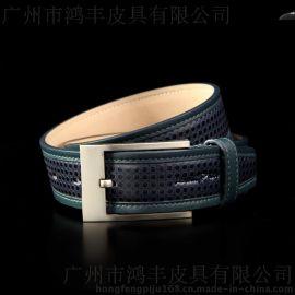 廣州皮帶生產廠家專業代工支持來圖腰帶貼牌