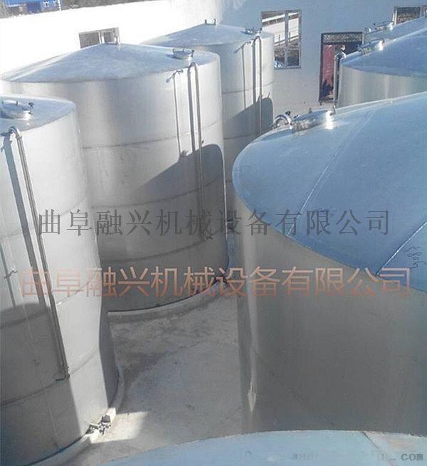 滄州大型不鏽鋼罐工程製作 白酒儲酒罐生產供應