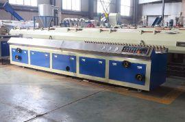 江苏联顺机械有限公司65锥形双螺杆PVC型材生产线