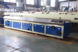 江蘇聯順機械有限公司65錐形雙螺桿PVC型材生產線