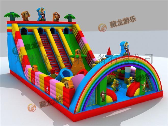 大型充气玩具汽包 儿童蹦蹦床去哪里定做**实惠,熊出没光头强充气大滑梯。