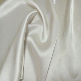 桑蚕丝16姆米染色真丝素绉缎面料