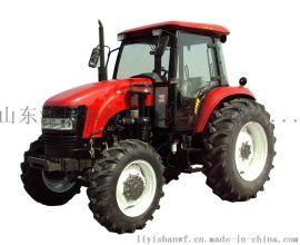 空调驾驶室100马力四轮驱动拖拉机