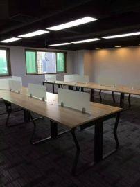 广州板式家具厂定做职员组合办公桌