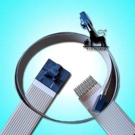 银浆印刷打端子激光挖孔FFC排线
