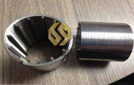 梯形丝滤圆滤棒,树脂活性炭过滤网