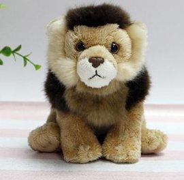 厂家生产定制小狮子毛绒玩具公仔吉祥物