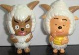 供应厂家直销 小羊肖恩雕塑 户外动物园摆件 美羊羊雕塑