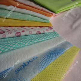 竹纤维水刺清洁抹布  洗碗布  印花擦布
