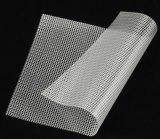 浙江工厂大量现货直销0.3厚度PVC透明网格布