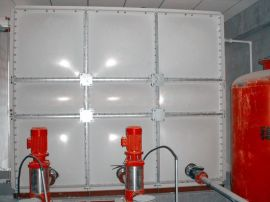 内蒙古赤峰**100立方玻璃钢消防水箱,厂家直销,