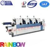 出口型全自动六开四开机组式四色打码胶印机