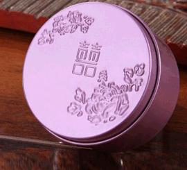 山东铁盒铁罐包装厂家供应圆形喜糖盒马口铁盒包装