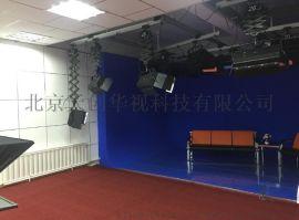 4k校园演播室设计 校园演播厅整体方案 校园电视台