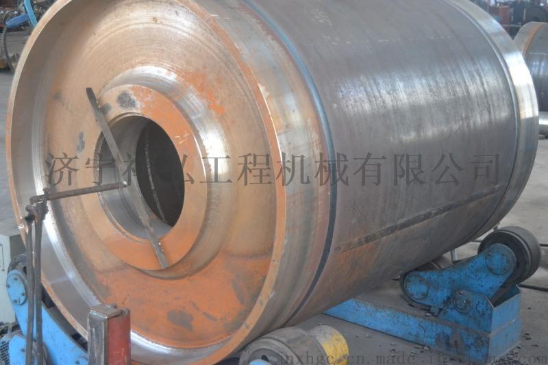 山西矿用带式输送机1000*1600的包胶滚筒