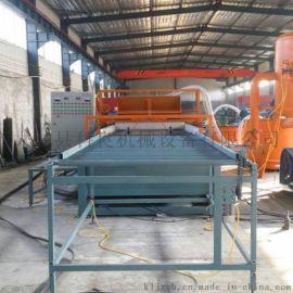 新型建筑材料设备 A级防火硅脂聚苯板设备
