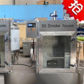 四川内江豆干烟熏炉,豆干熏烤箱厂家