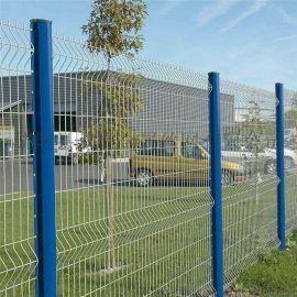 武汉三角折弯护栏网折弯防护网双边丝护栏网厂家