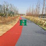 重庆宜昌透水地坪彩色排水混凝土路面生态透水艺术地坪保护剂